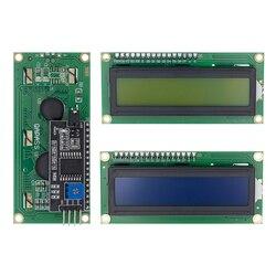 TENSTAR ROBOT LCD1602 + I2C LCD 1602 Модуль синий/зеленый экран PCF8574 IIC/I2C LCD1602 адаптер пластина для arduino