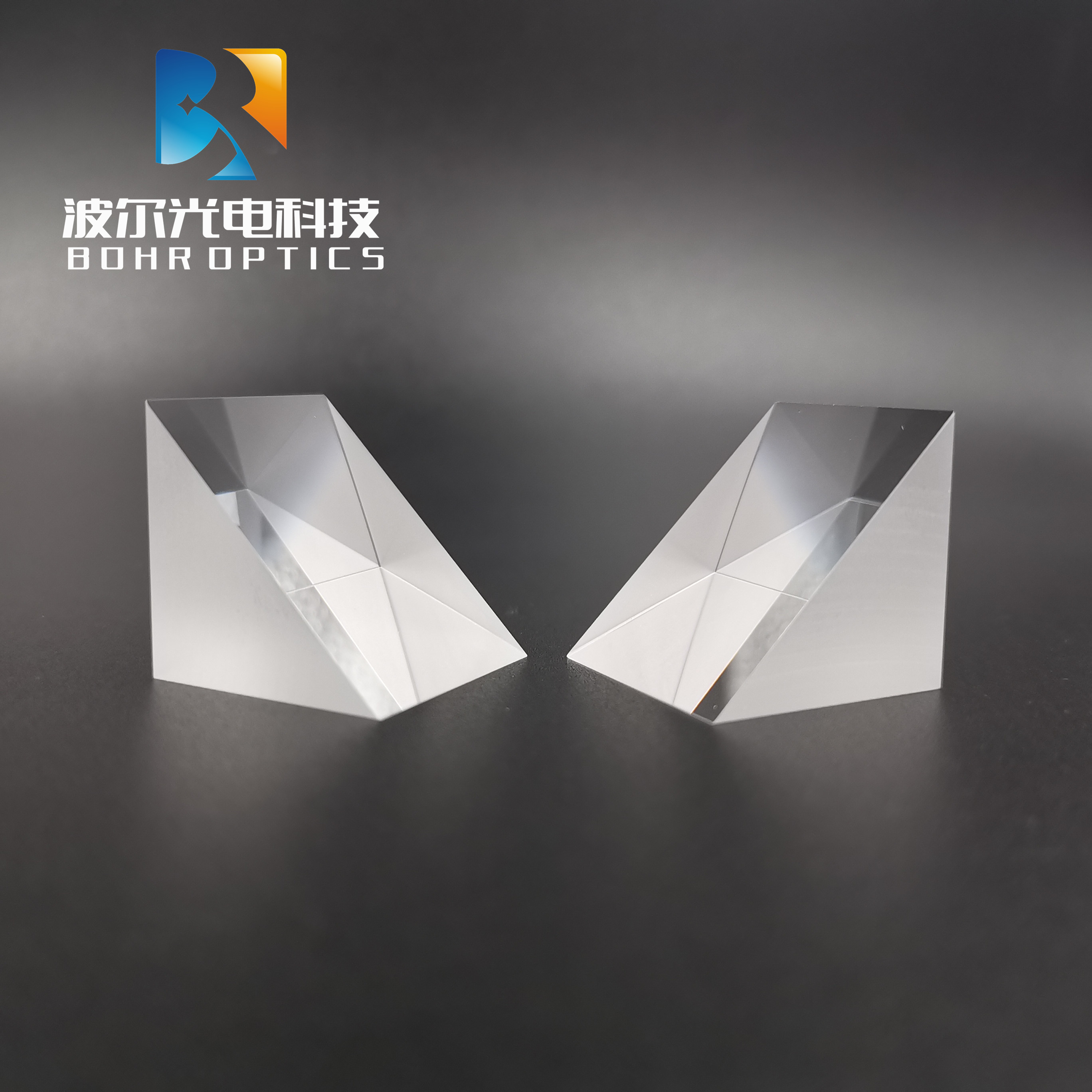 10x10x10mm Right Angle Prism No Coating N-BK7 (K9) Optical Components Glass for Precision Optical Instruments