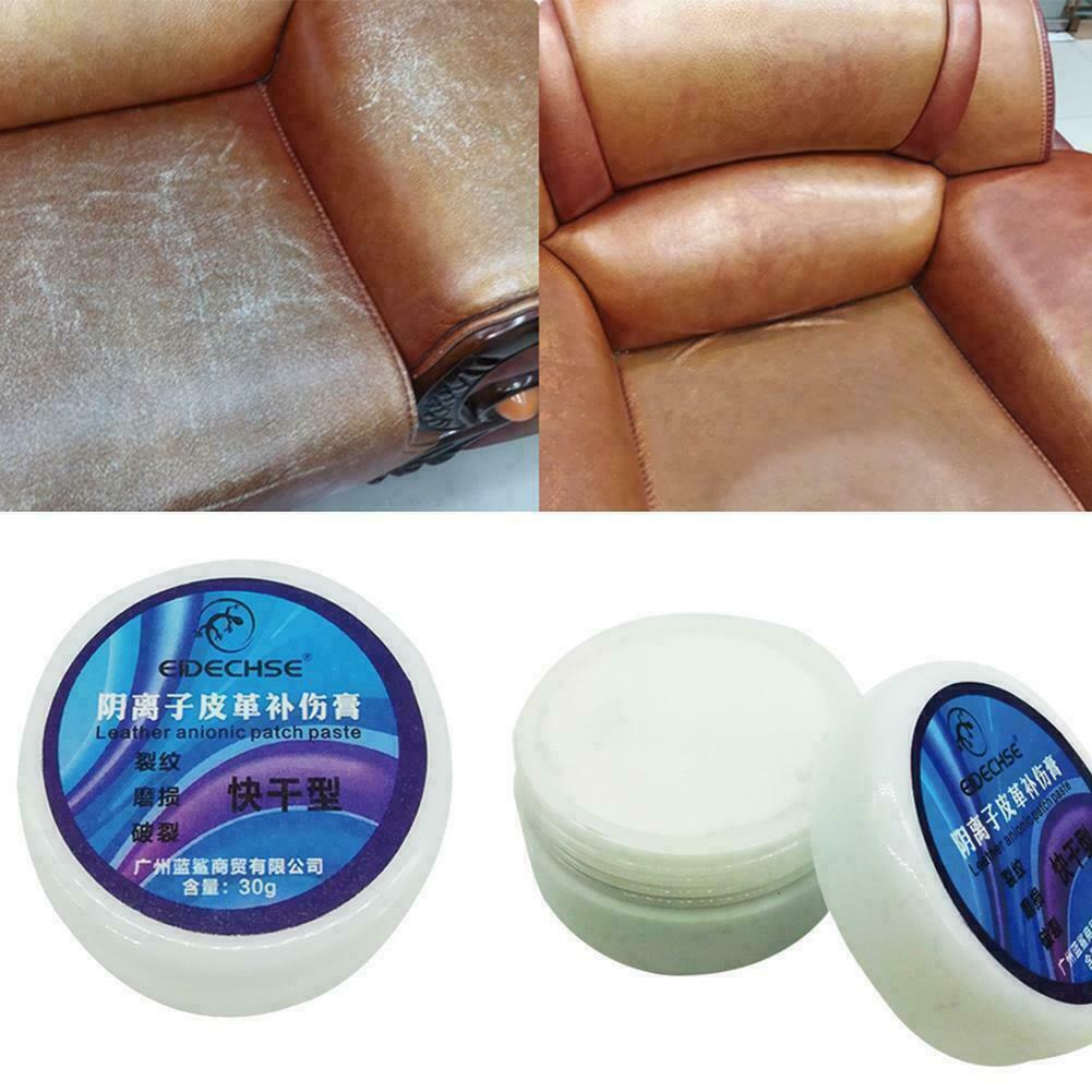 1pc 30ML Multifunctional Leather Cleaner Refurbishing Cleaner Repair Cream For Car Seat Sofa Renew Decontamination Cleaning Tool