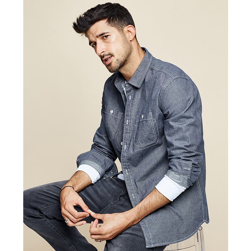 Dress Button Casual Slim Fit Shirt 1