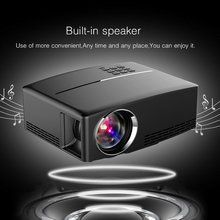цена на GP80UP LED Projector Full HD 1080P Mini Projector Home Media Player 1800 LM Portable Multimedia Home Cinema Theater Video Movie