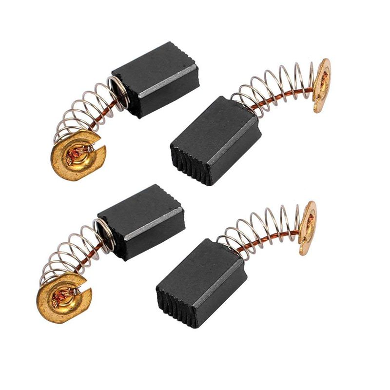 2 Pairs 12 X 9 X 6 Mm Coal Brushes Electric Tool For Electric Percussion Motor CNIM Hot