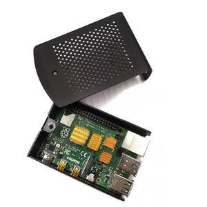 Image 5 - Nhôm mới nhất Ốp lưng Tản Nhiệt giá Treo Tương Thích cho Raspberry Pi 4 Mẫu B