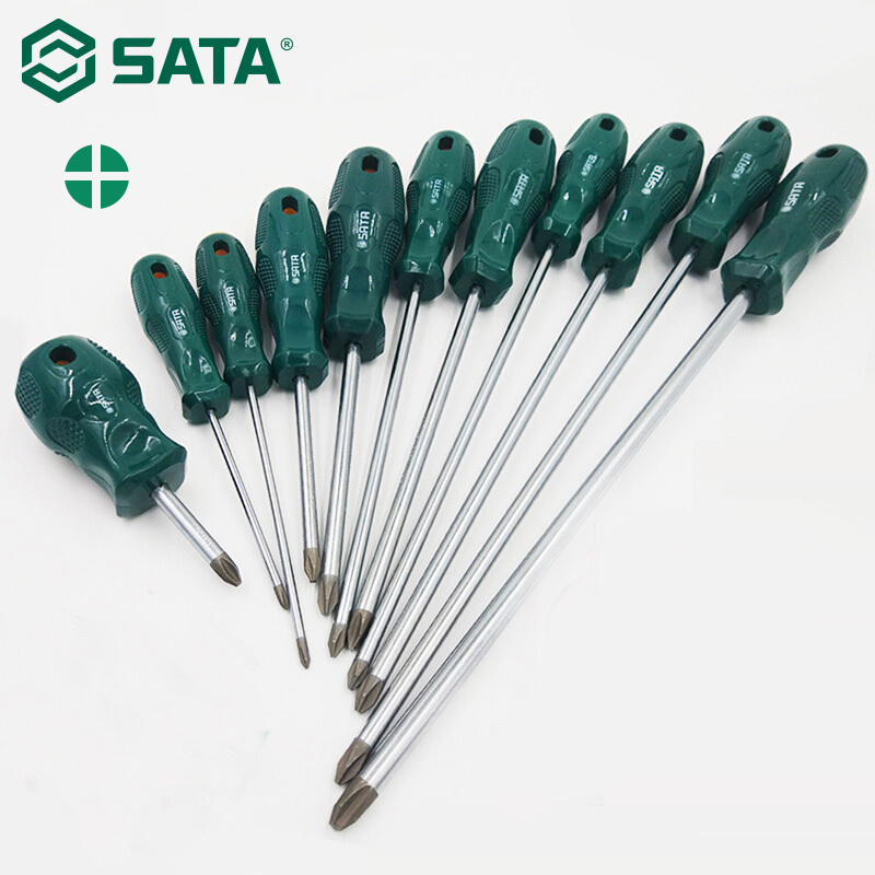 SATA Phillips Screwdriver Hardware Teardown Home Repair Tools Large Screwdriver Hand Tool  62302-62322