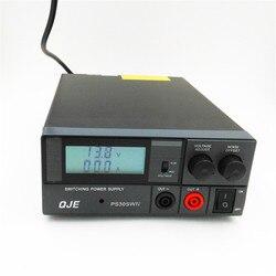 QJE transceptor PS30SW 30A 13,8 V de alta eficiencia de la fuente de alimentación de RadioTH-9800 KT-8900D KT-780 más KT8900 KT-7900D Radio de coche