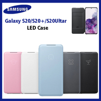 Original Samsung Smart LED leather Case For Samsung Galaxy S20 Plus S20+ S20 Ultra 5G Cover Back Wallet Cases EF NG980