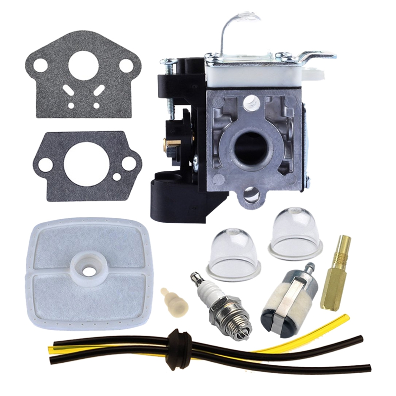 Carburetor With Repower Maintenance Kit For Echo GT230 GT231 PAS230 PAS231 PE230 PE231 PPT230 PPT231 SRM230 SRM231 Trimmer Brush