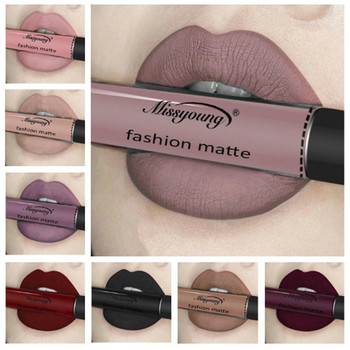 Makeup matte lipstick liquid gloss lipstick long lasting waterproof moisturizing matte lipstick set gloss full size sexy red lip