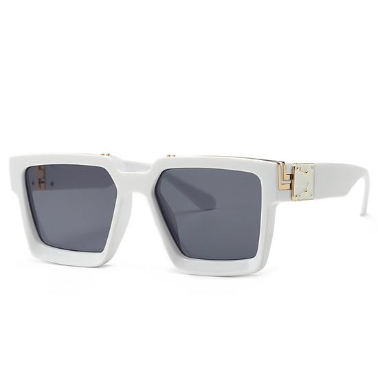 Retro Square Sunglasses Women Ins Popular Sun Glasses Men UV400 9