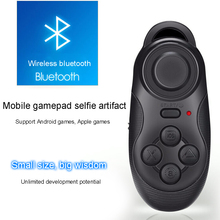 Wireless 032 Bluetooth VR Joystick Gamepad Remote Controller VR Game Pad For PC TV Smartphone Gamepad Control For VR BOX lefant g6 wireless bluetooth gamepad joystick controller for android smartphone tablet vr pc tv box ps3