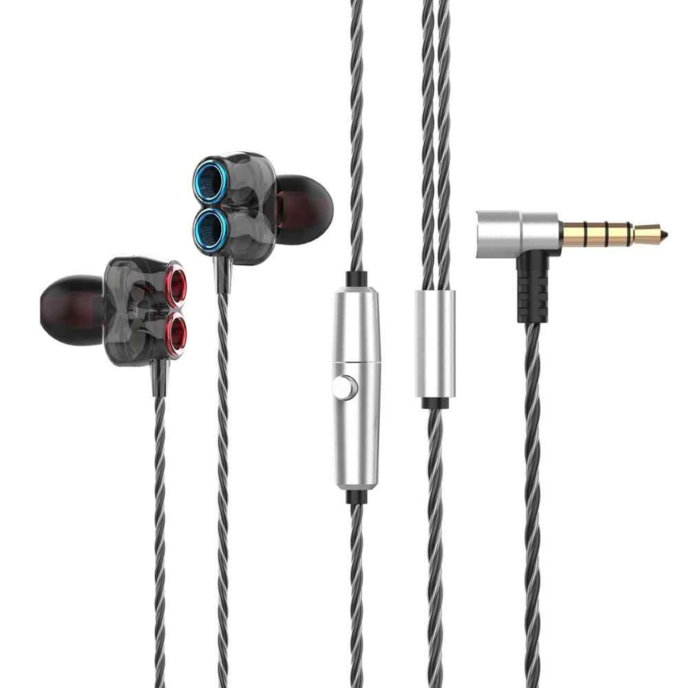 UTRAI 3.5 ミリメートルイヤホンハイファイ低音デュアルドライバステレオヘッドセットとマイク有線ソニー Xiaomi コンピュータゲーム用ヘッドセット