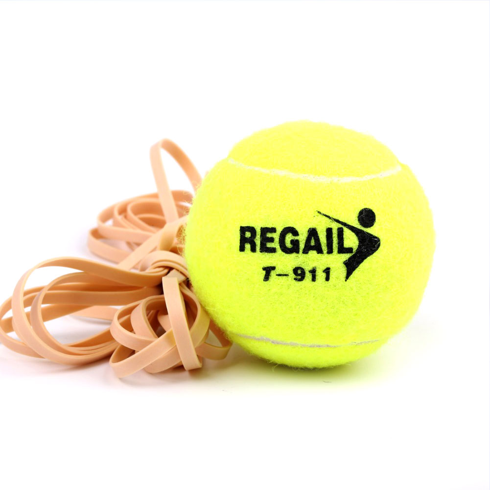 Tennis Ball Trainer With String Training Training Vanilla Green Rope