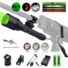 C11 Tactical Zoomable Hunting Flashlight XRE Red Green White Predator Light LED Focus Adjustable Torch Outdoor Rifle Gun Light 1