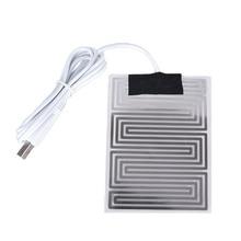 Hand-Warmer Heat-Mat Carbon-Fiber Electric Infrared Winter 5V Fever