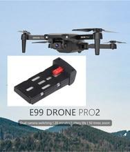 1800mAh Bettery Rumpf Klinge E99 Pro2 RC Dual Kamera WIFI FPV Luftaufnahmen Hubschrauber Faltbare Quadcopter Eders Spielzeug