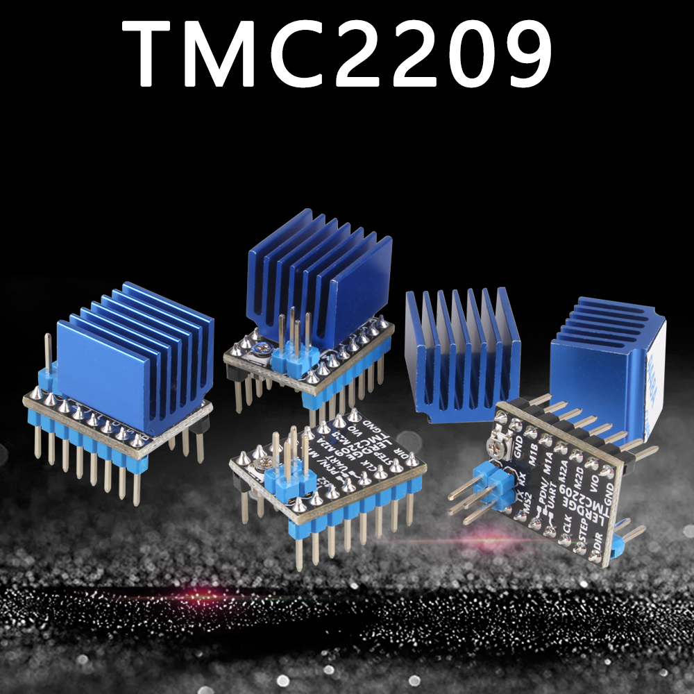 LERDGE 3D Printer Parts TMC2209 Stepper Motor Driver 256 UART TMC2208 A4988 LV8729 TMC2130 Board ultra-silent Ender3