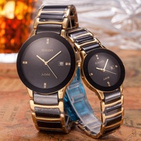 rado Luxury Brand quartz women Watches Quartz Watch Stainless Steel Strap wristwatch classic business dress men watch 6421