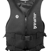 Life-Jacket Rafting Kayaking Boatin-Suit Fishing Swimming Neoprene Children Snorkeling-Wear