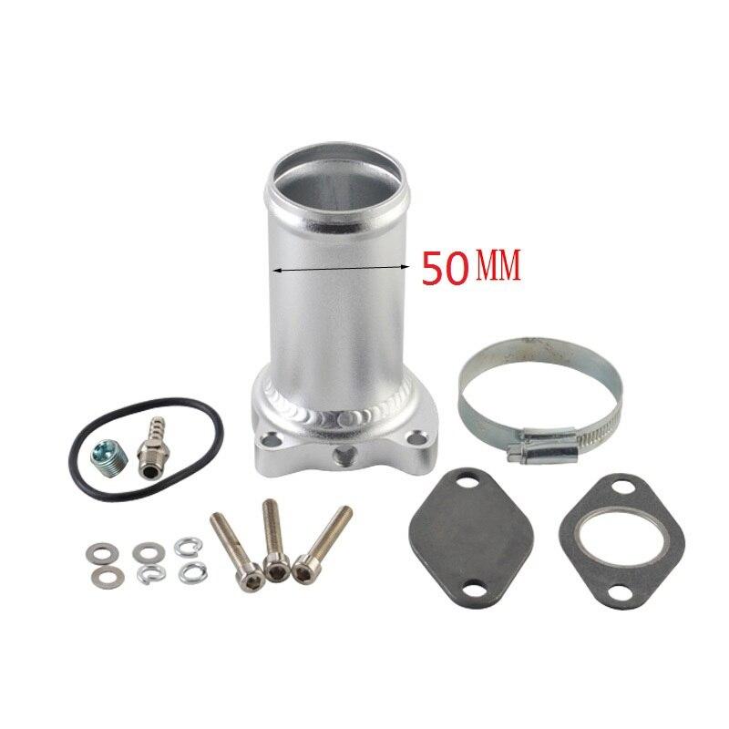 50 millimetri EGR Elimina Kit Tubo Vestito Per MK4 Beetle Golf vw 1.9TDI 75/80/90/115 BHP valvola egr