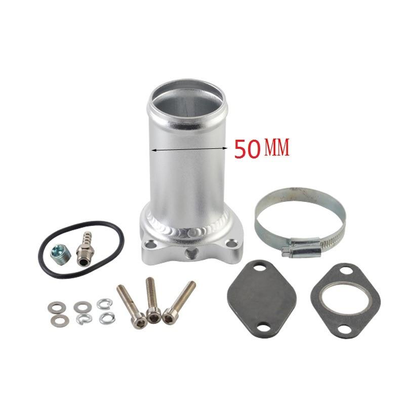 50mm EGR למחוק ערכת צינור חליפת עבור MK4 חיפושית גולף פולקסווגן 1.9TDI 75/80/90/115 BHP egr שסתום