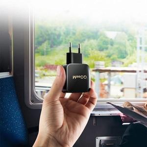 Image 5 - QGEEM QC 3.0 chargeur USB Charge rapide 3.0 chargeur de téléphone pour iPhone 18W3A chargeur rapide pour Huawei Samsung Xiaomi Redmi EU prise américaine