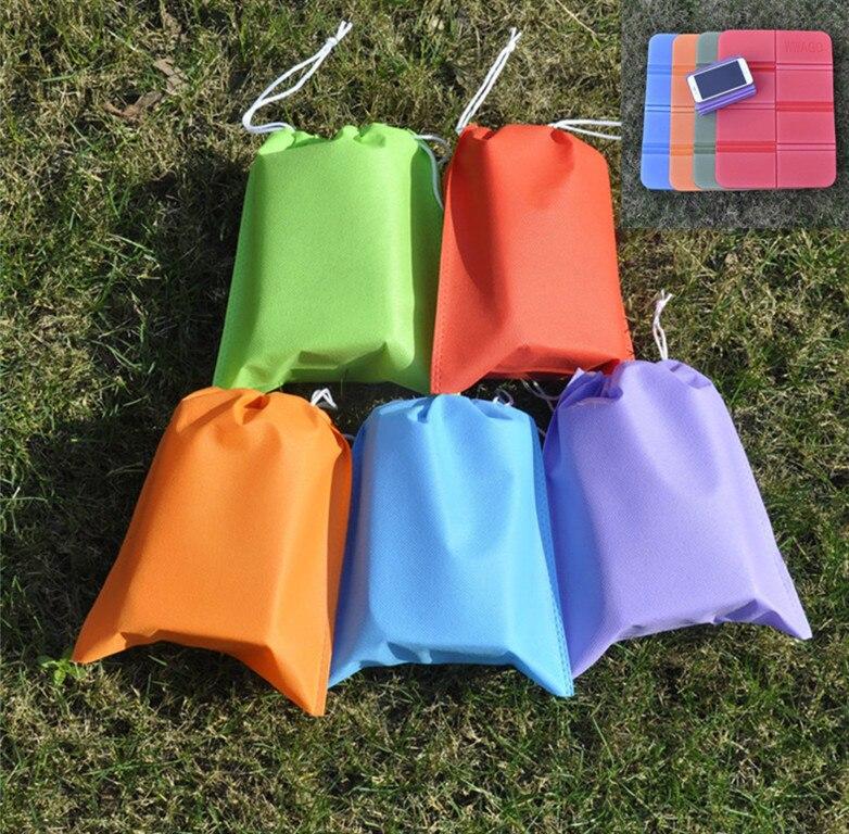 Waterproof Nylon Storage Bag Double Camping Hiking Picnic Portable Cushion Folding Camping Mat Mattress Storage Bag