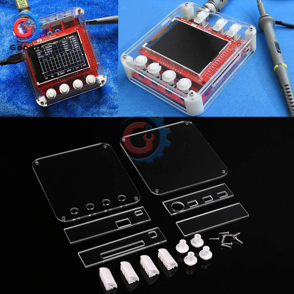 Acrylic Protection Case For Mini Digital Oscilloscope DIY Anti Scratch Cover Oscilloscope Transparent Shield 13805K