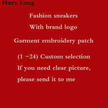 Trend sports brand logo Fashion sneakers Casual shoes With famous and trademark DIY clothing patch