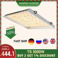 Mars hydro led grow light Full Spectrum TS 3000W Sunlike Indoor Quantum plants for grow lamp led Board Greenhouse grow tent