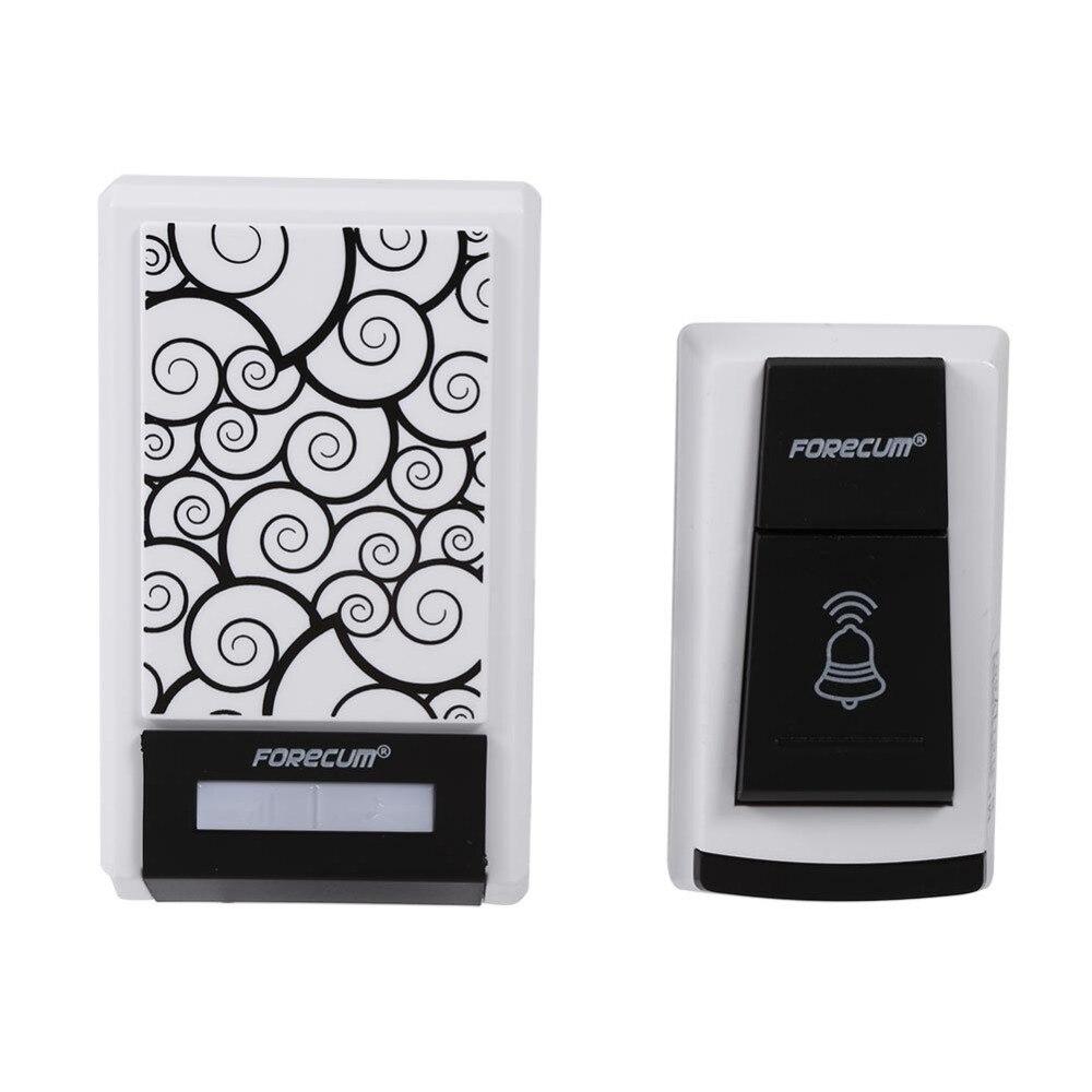 Smart Wireless Doorbell 20-80db Remote Control Doorbell Home Receiver With Waterproof Door Bell 100m Range For Home Security