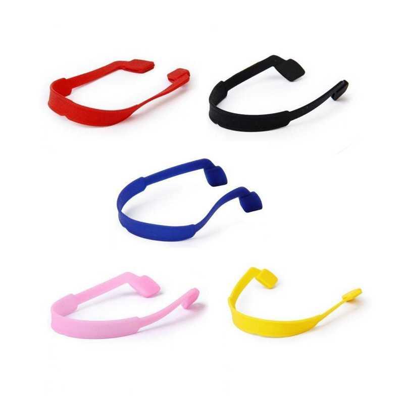 5 pièces cordes chaînes de lunettes supports de lunettes en silicone pour enfant-5 couleurs différentes