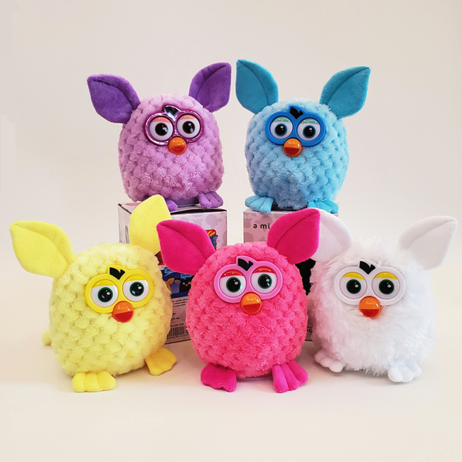 Dog Toys Pet Interative Chew Squeak Toy Plush Furby Owl Pet Puppy Biting Squeaking Toys For Dogs Cat Recording Talking Toy