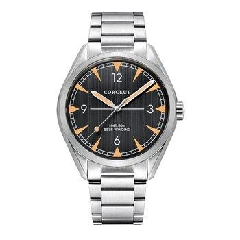 Mens Automatic Watches Luxury top brand Sports clock swim Watch Self-Wind Military Stainless Steel Dress Mechanical Wristwatch
