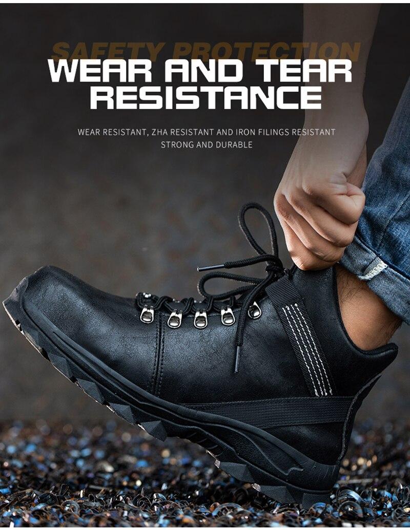 peso sapatos de segurança de trabalho de