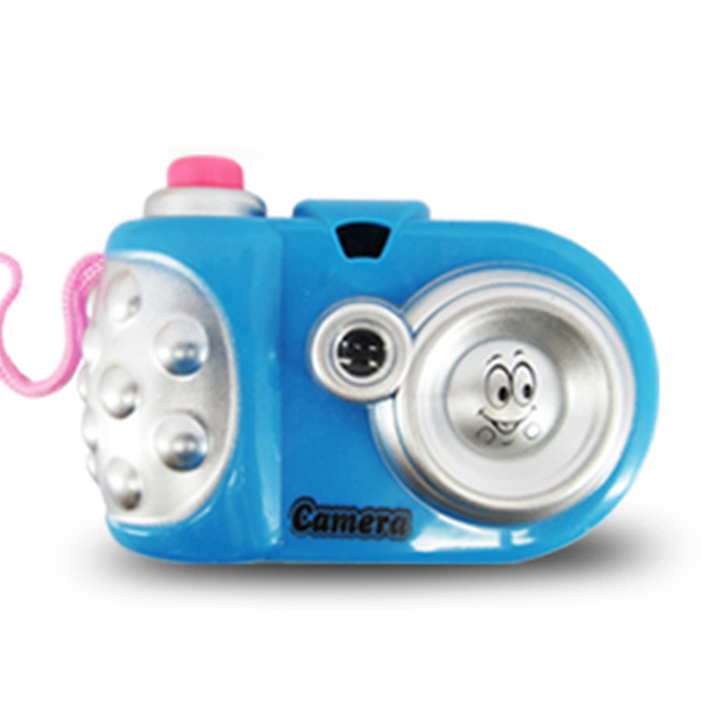 Kids Battery Powered Plastic Educational Cartoon Non Slip Projection Mini Led Gift Toy Camera