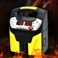 LCD Display 220V Car Battery Charger Intelligent Pulse Repair Jump Starter