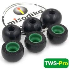 Misodiko Tws Pro Memory Foam Ear Tips Voor Ture Draadloze Oordopjes Samsung Galaxy Knoppen, gear Iconx/Bragi Dash Pro De Hoofdtelefoon