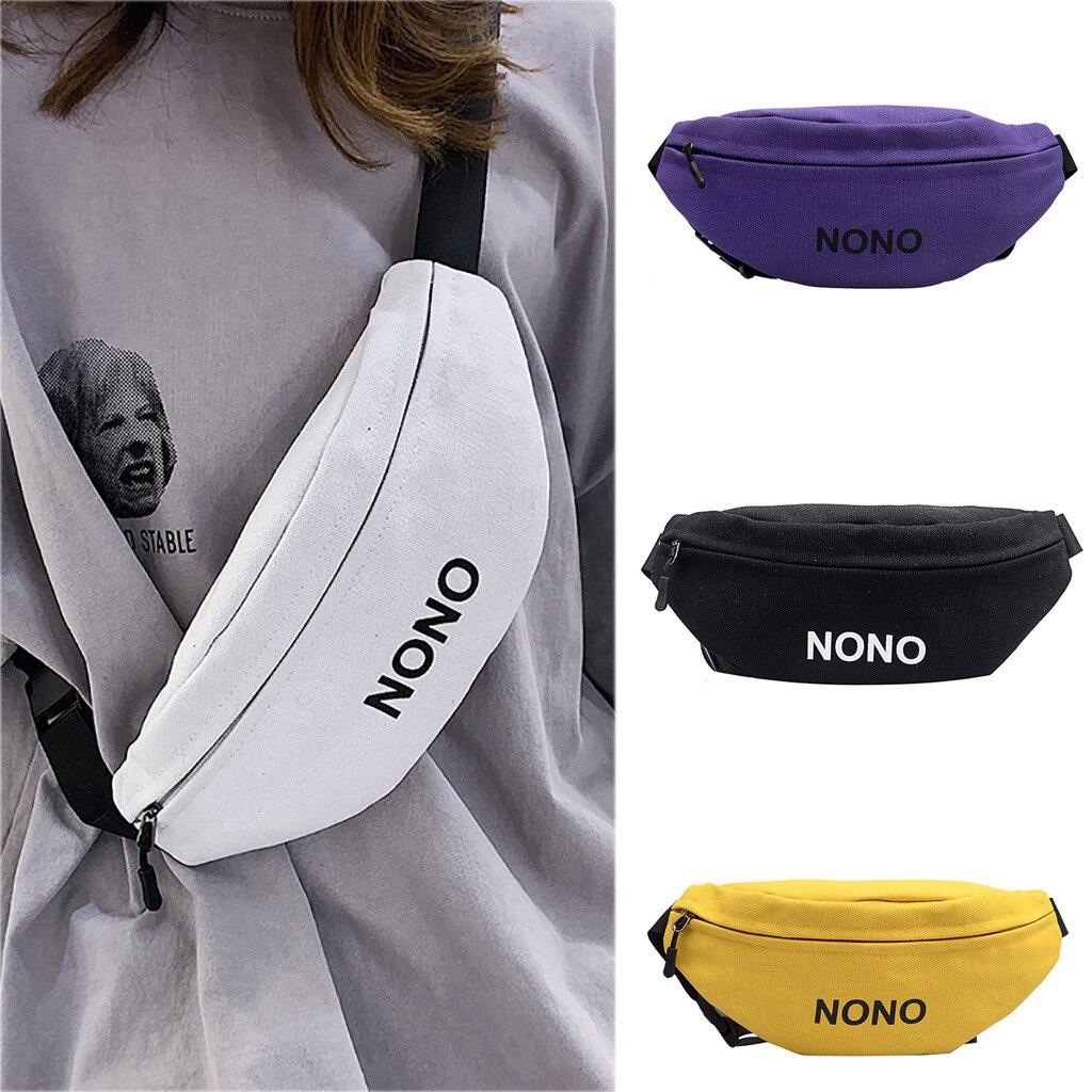 Colorful Waist Bag Women Fashion Joker Bag Crossbody Pocket Chest Pocket Sport Shoulder Bag Runner Bags For Women