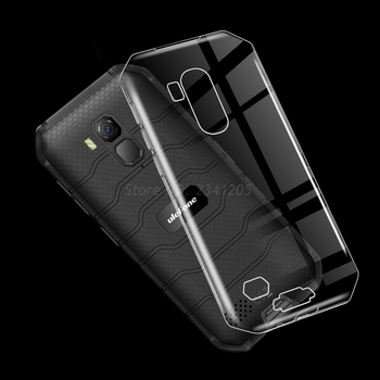 Перейти на Алиэкспресс и купить Мягкий черный чехол ТПУ для Ulefone Armor X7 Etui, задняя крышка, прозрачный чехол для телефона, силиконовый чехол для Ulefone Armor X7 Pro, 5,0 дюйма