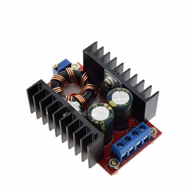 10-30V à 12-35V intensifier CV CC 150W 10A DC convertisseur de puissance CC voiture LED d'alimentation chargeur de conducteur régulateur de tension réglable