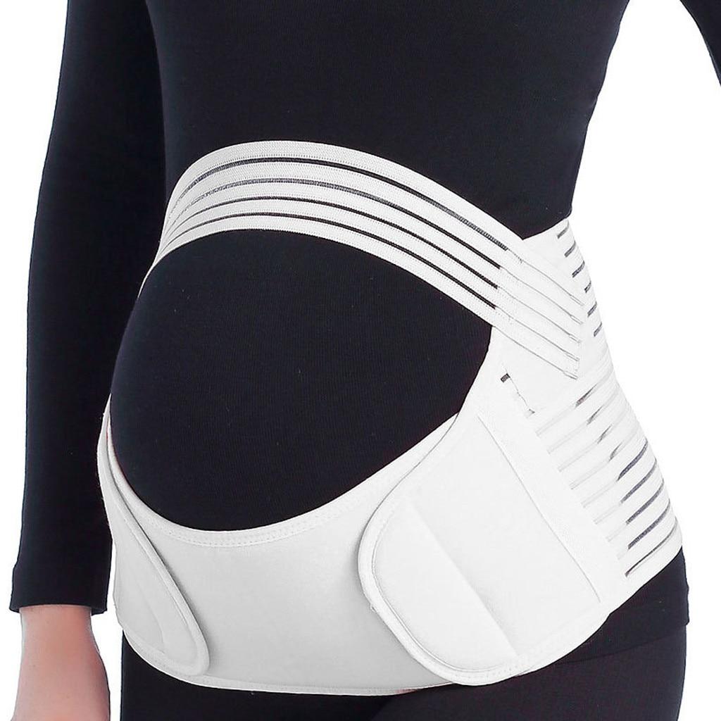 Pas ciążowy podparcie pleców opaska na pas ciąża Protector wsparcie pasa Brace brzuch wsparcie opaska na pas powrót Brace ciąża