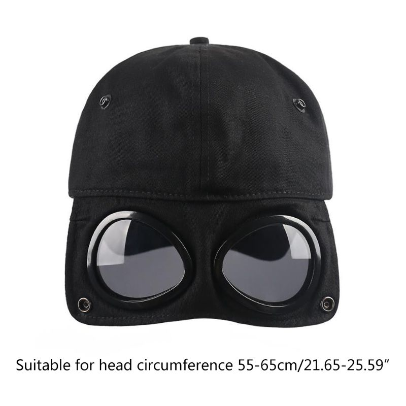 2020 New Men Women Pilot Glasses Duck Hat Fashion Wild Students Street Trend Baseball Cap