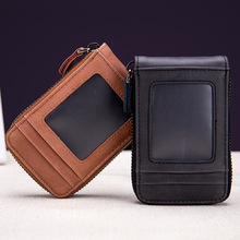 Genuine Leather Credit Card Holders Organ Female Card Case ID Holder RFID Wallet Women Business Cardholder Organizer Coin Purse rfid 36 card slots genuine leather women card holders large capacity credit card holder wallet female business card holders bag
