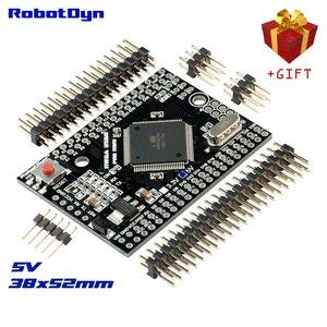 Mega 2560 pro mini 5v, ATmega2560-16AU, com pinças masculinas. Compatível com arduino mega 2560.