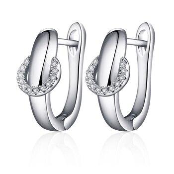 Maikale επίχρυσα σκουλαρίκια silver για γυναίκες