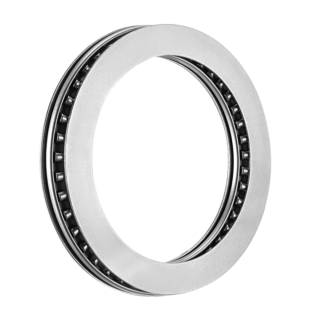 Uxcell Needle Roller Thrust Bearings With Bearing Washers AXK+2AS 8mm-80mm Bore Dia 19mm-105mm OD 4mm-6mm Total Thickness