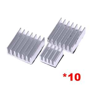 30 x Aluminum Heatsink Cooler Adhesive Kit for Cooling Raspberry Pi