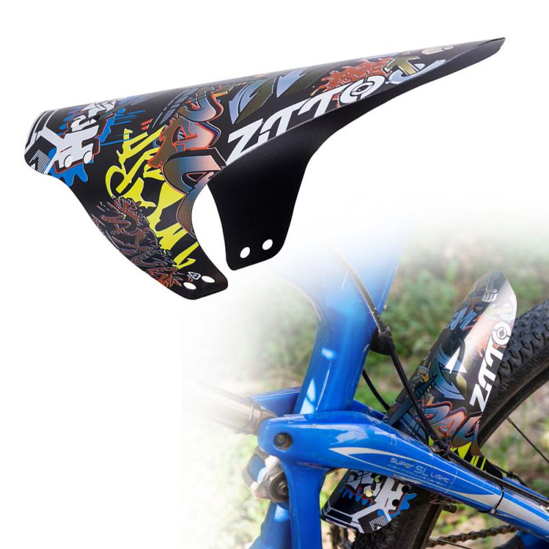 1pc Plastic Colorful Bicycle Fender Front//Rear Bike Mud Guard MTB Accessories