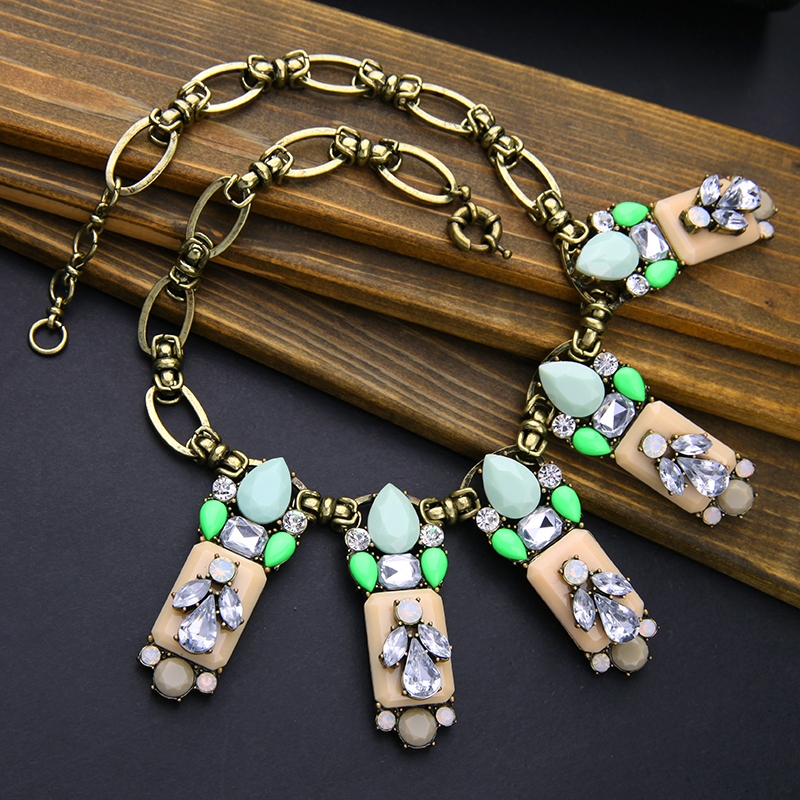 kissme Big Discount Vintage Pendant Necklace For Women Bohemia Style Statement Necklace Wholesale Fashion Jewelry Clearance Sale(China)