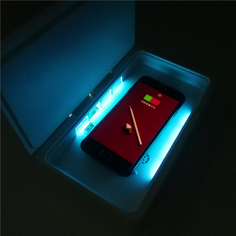 Multifunctional Nano Coating Machine USB UV Mobile Phone Sterilizer USB Charging Wireless Charging For Mobile Phone Underclothes